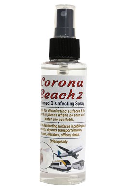 Corona Beach Perfumed Disinfecting Spray